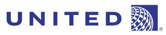 United Airlines logo banner