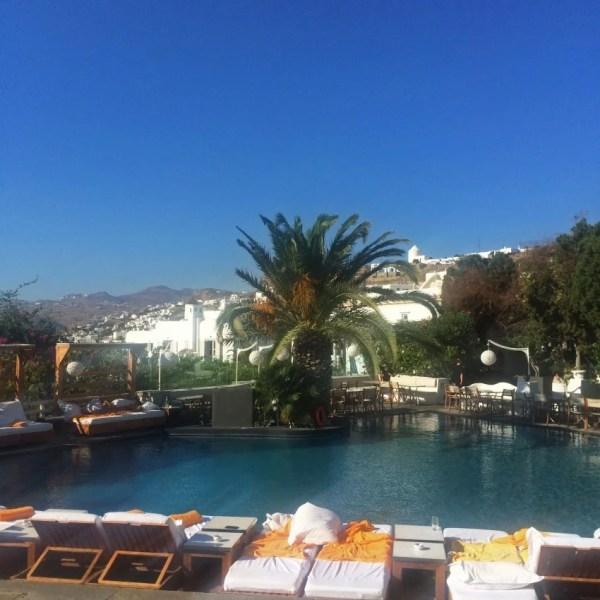 Ah, the Belvedere's pool