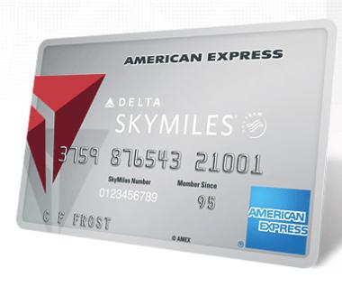 The Delta Platinum SkyMiles Card.