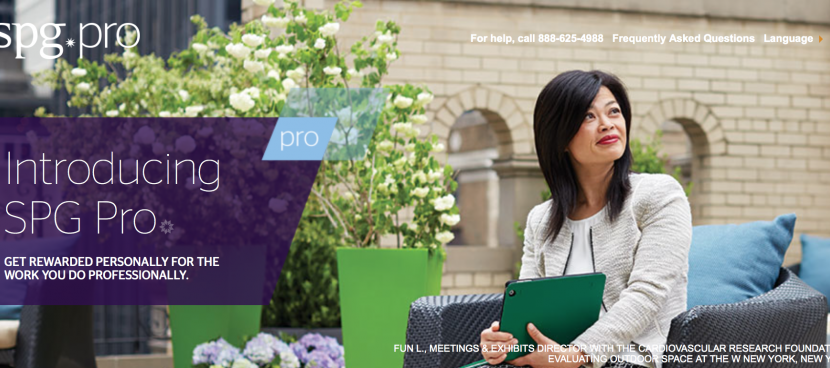 Starwood has just launched SPG Pro.
