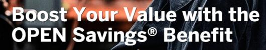 Amex Open Savings Banner