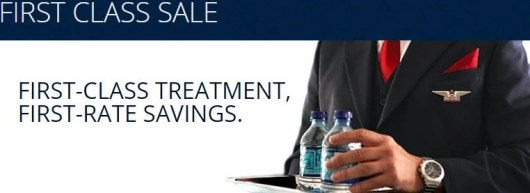 Delta is having a holiday upgrade sale