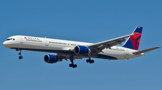 A Delta 757 clipped the wing of a Compass Airlines plane at Minneapolis