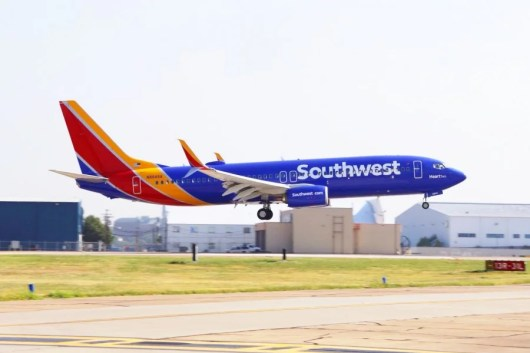 Congrats to TPG Reader John N. on winning a $500 gift card to fly the new Southwest livery!