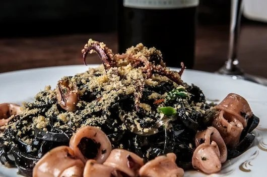 Incredible pasta dishes at The Tasting Kitchen. Photo courtesy of The Tasting Kitchen.