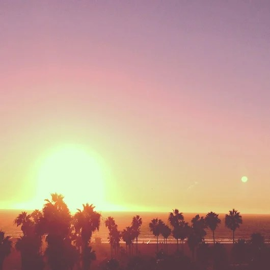 Sunset views from High Rooftop Lounge. Photo by Shayne Benowitz.