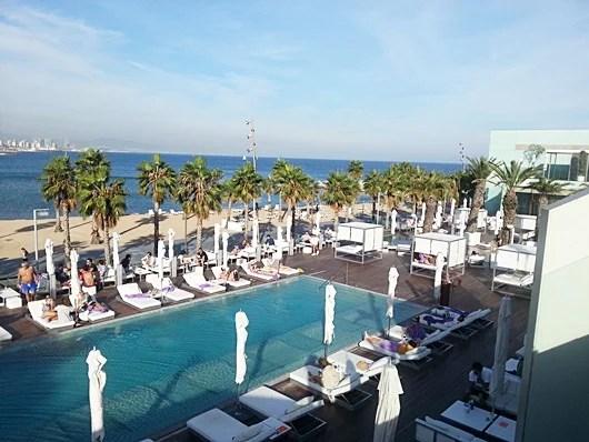 Pool and beach overlook