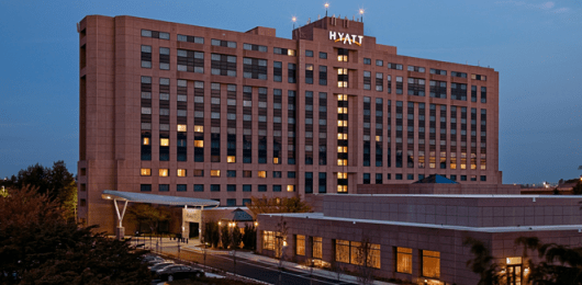 The Hyatt Dulles has some cheap rates which makes it a good hotel to spend some nights for a challenge.
