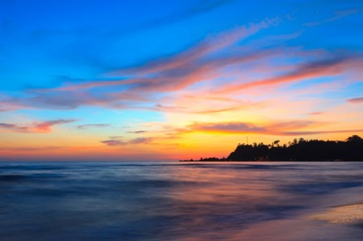 A sunset in Koh Chang (Image courtesy of Shutterstock)