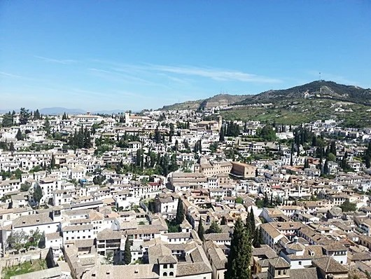 Snap this view of the Albyzin quarter from the Alhambra
