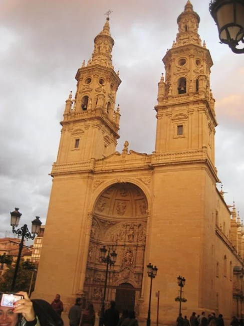 The Logroño cathedral