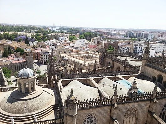 A view from the Giralda tower