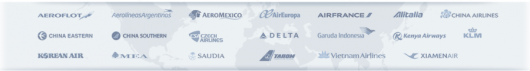 Delta has a ton of great partners in SkyTeam and beyond.