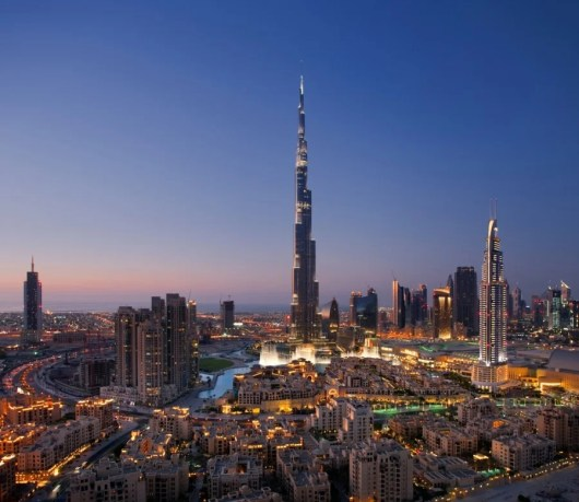 Head to the Burj K for some amazing views of Dubai