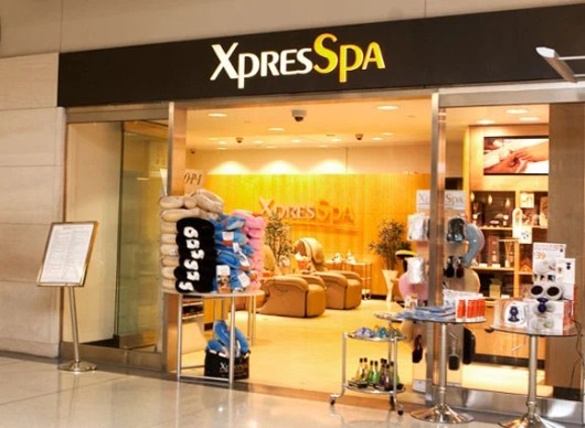 XPresSpas are found at6 airports all across the U.S.