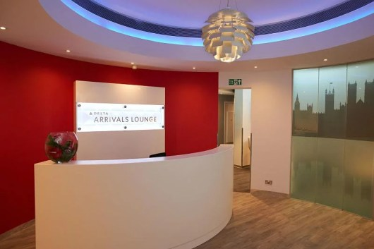 Delta just opened their new  Arrivals lounge at LHR.