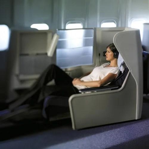 British Airways Business Class Club World Seat featured