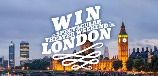Win a theater weekend in London