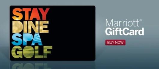 Marriott GIft Card banner
