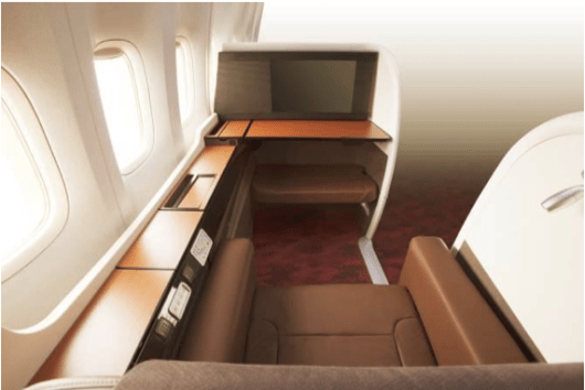 JAL's new first class Suites are as serene as a Japanese forest.
