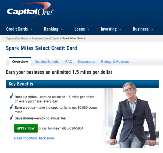 The Spark Miles Select card from Capital One has some intriguing benefits, but you may be better off with the fee-based version.