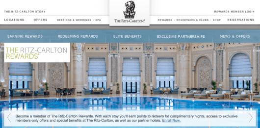 The Ritz-Carlton Rewards program is essentially identical to Marriott Rewards.