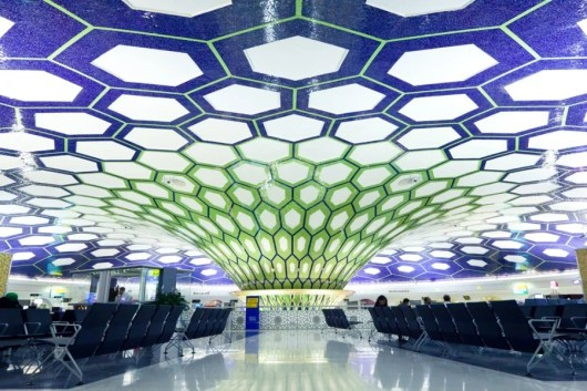 Abu Dhabi International Airport, the hub for Etihad. Photo courtesy of Shutterstock.