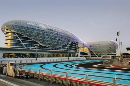 Yas Marina Circuit. Photo courtesy of Shutterstock.