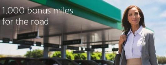 Earn 1,0000 bonus AA miles for National Car Rentals