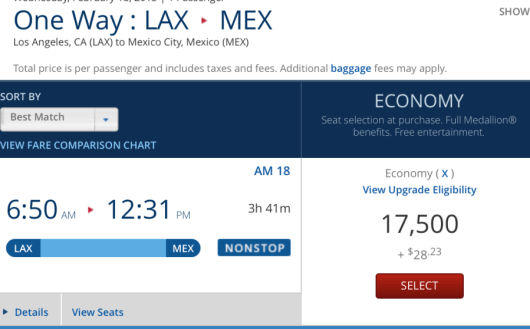 You may be better off redeeming SkyMiles to Mexico, rather than using AeroMexico miles.