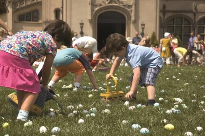 Eggs galore at Biltmore Estate's Easter egg hunt