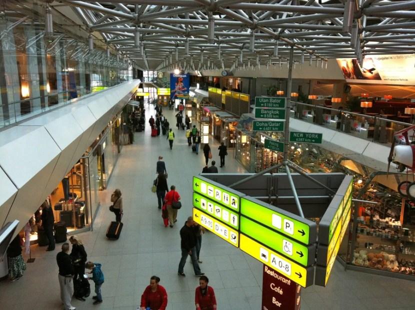 Tegel's main terminal (photo courtesy of Andrew Nash via Flickr)
