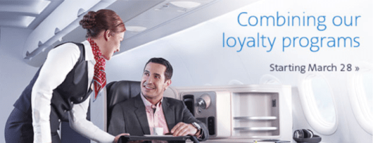 Starting March 28, 2015, US Airways miles will be combined into American miles.