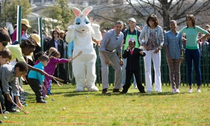 Want to roll eggs with the Easter Bunny AND the President? Visit the White House for Easter. Photo courtesy of whitehouse.gov