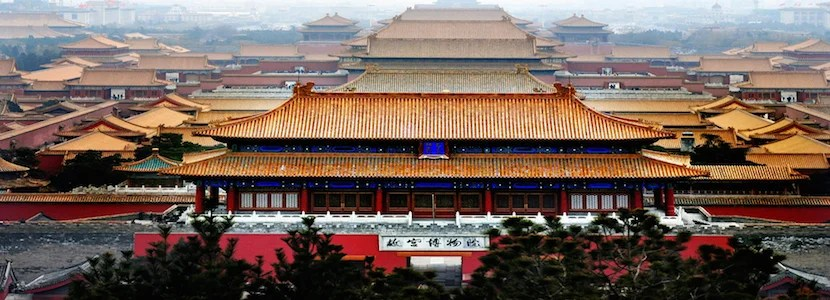 The Forbidden City in Beijing is one of the most impressive establishments in East Asia. Courtesy Shutterstock