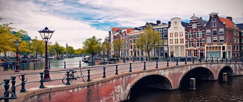 Maybe next time you are in Amsterdam you can gain some functionality out of KLM's app - or play their fun mobile game. Photo courtesy of Shutterstock.