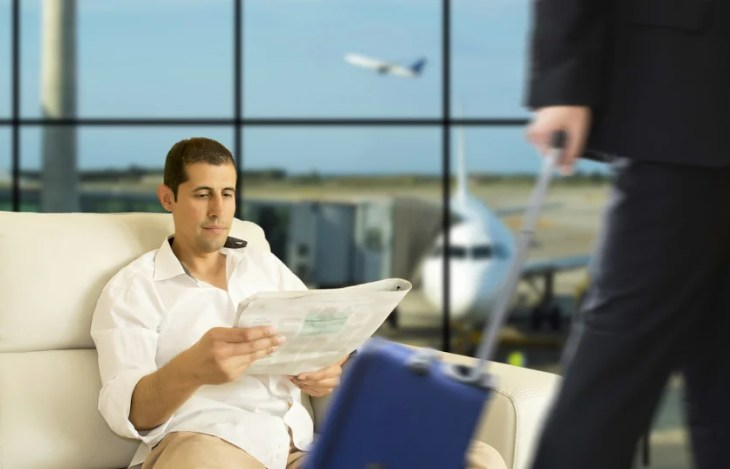 Relax in the new independent Aspire lounge at LHR from Priority Pass & Swissport. Photo courtesy of Shutterstock.