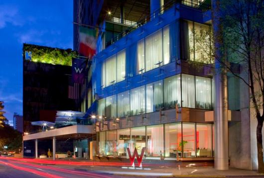 Consider staying at the W Mexico City, which is a Category 5 property.