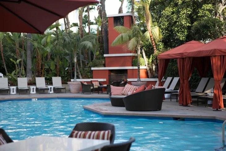 The Island Hotel in nearby Newport Beach