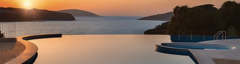 The infinity pool at the JW Marriott Bodrum.