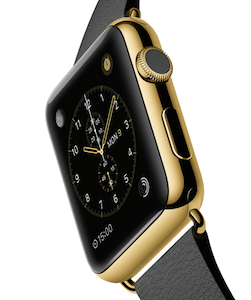 Apple Watch Edition designs will contain 18k gold and start at $10,000.