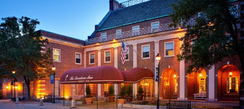 The Dearborn Inn combines modern luxury with traditional style, giving you a unique hotel at which to redeem your Marriott points.