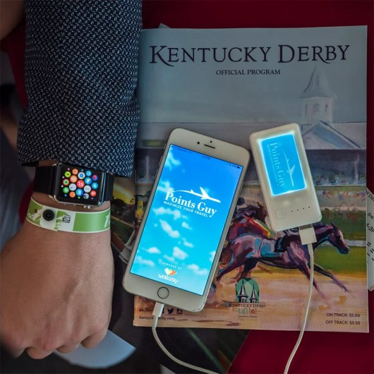 I used it all day at the Kentucky Derby and even had some power left over at the end of the day