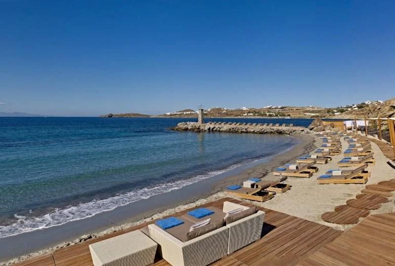 The beach at Santa Marina, an SPG Category 7 hotel. Photo courtesy of Starwood.