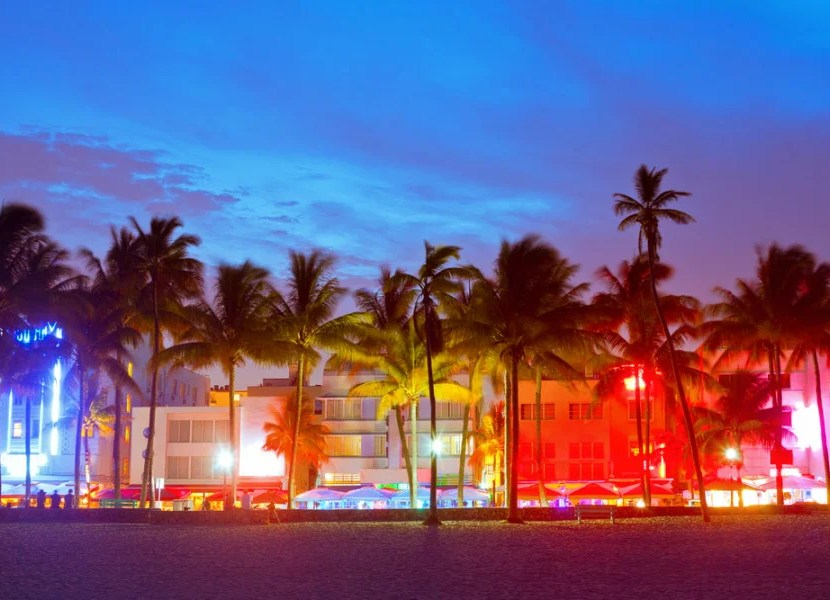 South Beach is a great gay hood during daytime and nightime. Photo courtesy of Shutterstock.