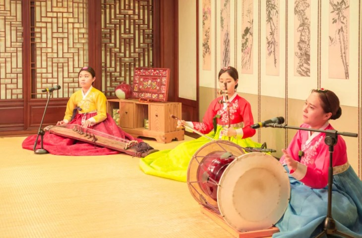 Traditional Korean music often greets visitors to Seoul's Incheon (ICN). Photo courtesy of Shutterstock.