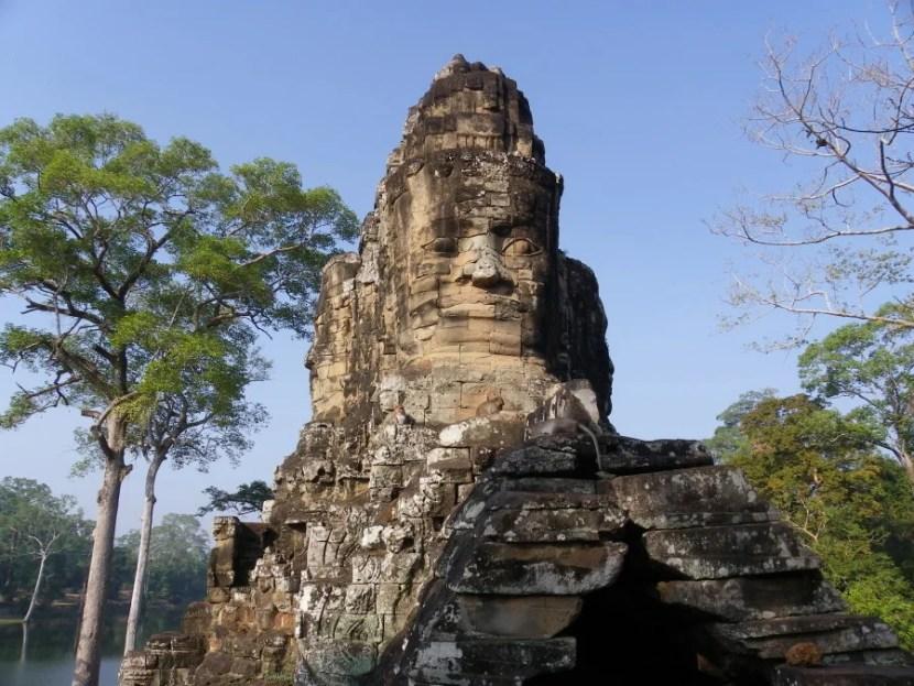 Bayon, Angkor Thom, Cambodia. Photo by Author