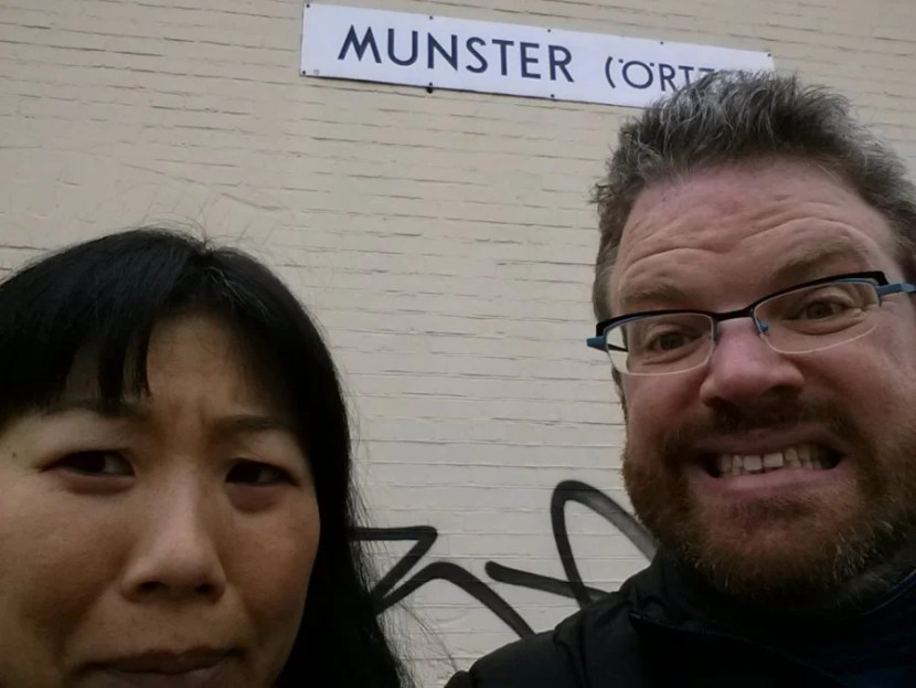 Oops!  We're in the wrong Munster!