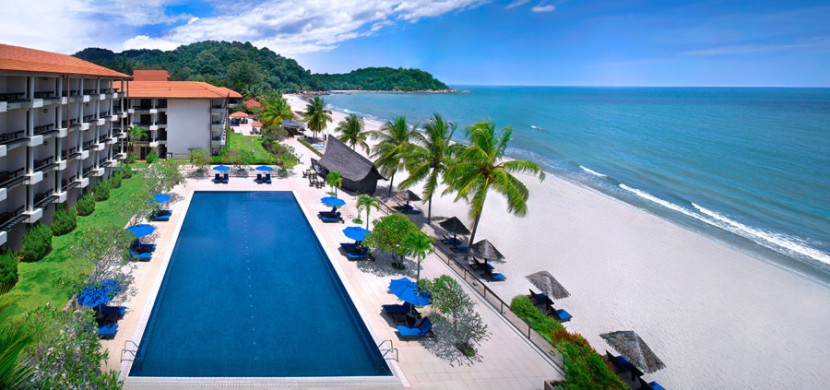 You'll feel like you're in the middle of nowhere at the Hyatt Regency Kuantan in Malaysia.