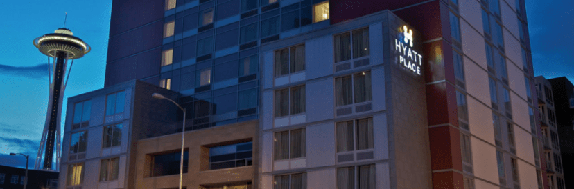The Hyatt Place Seattle Downtown is just blocks from the iconic Space Needle